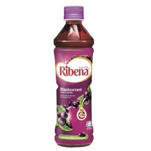 Ribena 利賓納 原味黑加侖子果汁飲品450毫升 - 4支裝