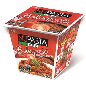 NISSIN 日清 新意派杯裝意粉 意式番茄肉醬味 100克