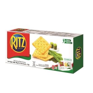 RITZ 利脆 餅乾 蒜香海苔味 - 內有8包