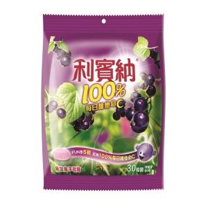Ribena 利賓納 黑加侖子軟糖原味獨立包裝 - 30粒裝