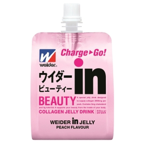 Weider IN Jelly Beauty Collagen Jelly Drink 180g - Pack of 6