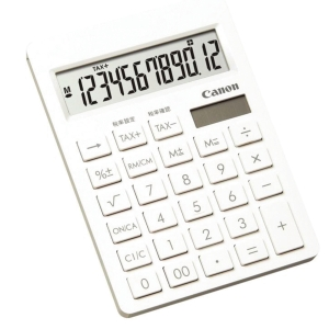 Canon SI-120T Semi Desktop Calculator 12 Digits