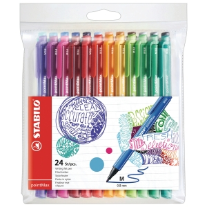STABILO pointMax Fineliner Pen - Box of 24