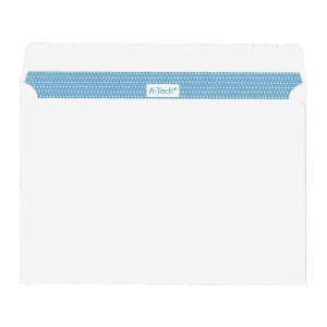 A-Tech Self-Adhesive White Envelope 162 x 229mm - Pack of 20