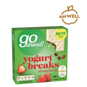 McVitie s Go Ahead Yogurt Breaks Strawberry - Box of 5