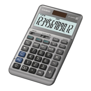 CASIO JF-120FM Desktop Calculator 12 Digits