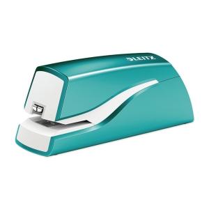 Leitz 利市 5566 WOW 電動釘書機 冰藍色