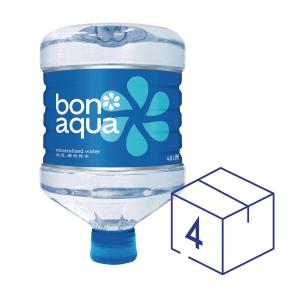 Bonaqua飛雪 迷你桶裝水4.8升 - 4支裝