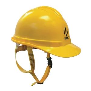 Korel Supastar Safety Helmet with Strap Yellow