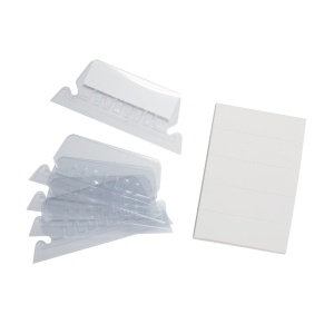 Godex Index Tabs For Suspension Files - Box of 25