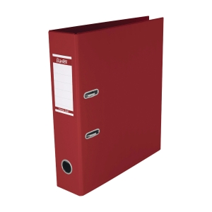Bantex PVC Lever Arch File A4 3 inch Red