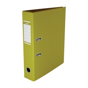 Bantex 辦得事 全包膠檔案夾 F4 3吋 黃色