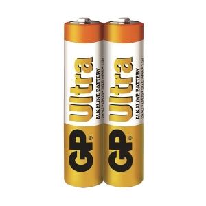 GP Ultra Alkaline Batteries AAA - Pack of 2