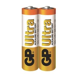 GP Ultra Alkaline Batteries AA - Pack of 2