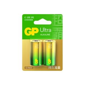 GP Ultra Alkaline Batteries C - Pack of 2