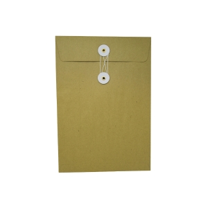 Brown Envelope with String 7 x 10 inch
