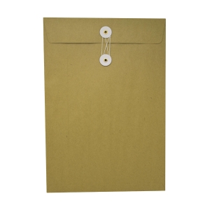 Brown Envelope with String 9 x 13 inch (F4)
