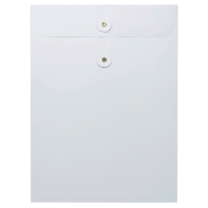 White Envelope with String 9 x 12 inch (A4)