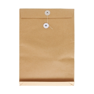 Brown Envelope with String 10 x 14 x 2 inch