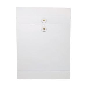 白色風琴式有繩公文袋 9 吋 x 12 吋 x 1.5吋
