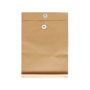 Brown Envelope with String 7 x 10 x 1.5 inch