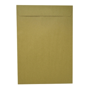 啡色膠口公文袋 10 x 14吋 (F4)
