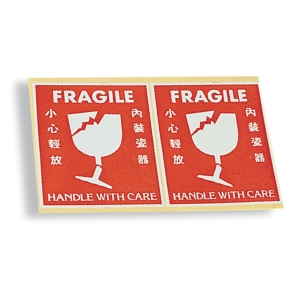 Self-adhesive Label [Handle with Care] - Pack of 30