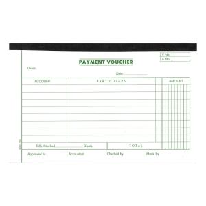 英文傳票 Payment Voucher 133x210毫米,每疊45張