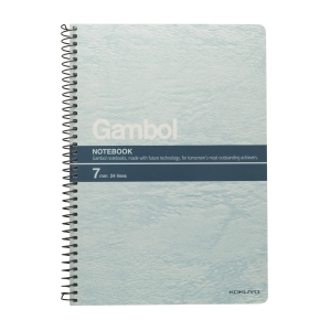 Gambol S5807 Notebook Assorted Color A5 - 80 Sheets