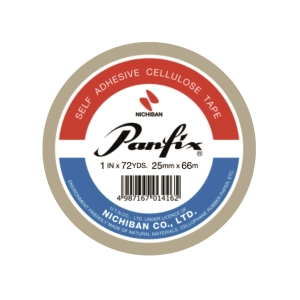 PANFIX 透明膠紙 1吋 x 72 碼 1 卷裝