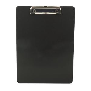 Plastic Clip Board Black A4