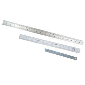 Stainless Steel Ruler 12 inch