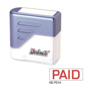 Deskmate 德士美 原子印 KE-P01A [PAID ] 粗體印章