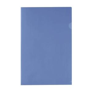 E355 膠文件套 F4 藍色 - 每包12個