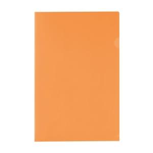E355 膠文件套 F4 橙色 - 每包12個