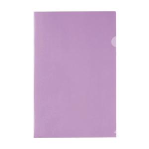 E355 膠文件套 F4 紫色 - 每包12個