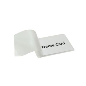 過膠套名牌 60 x 90 毫米/100 微米 - 每盒100張