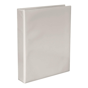 White Insert Binder 2 D-ring A4 38mm