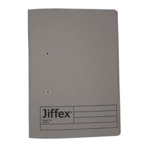REXEL JIFFEX 紙皮彈簧快勞 F4 灰色