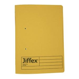 REXEL JIFFEX 紙皮彈簧快勞 F4 黃色