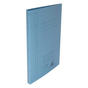 F4 紙文件套連夾 藍色