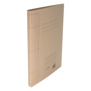 F4 紙文件套連夾 米色