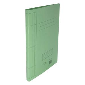 F4 紙文件套連夾 綠色