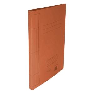 F4 紙文件套連夾 橙色