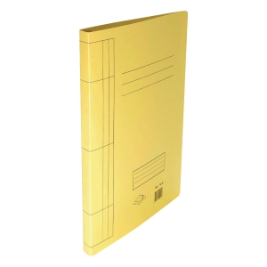 F4 Paper File with Fastener Yellow