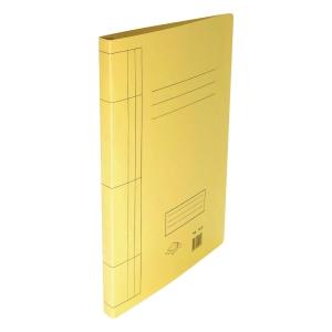F4 紙文件套連夾 黃色