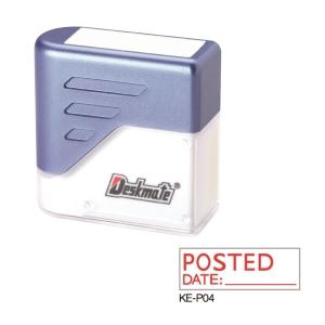 Deskmate KE-P04 [POSTED DATE ____] Stamp