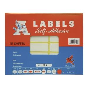 A LABELS 239 白色標籤 24 X 90毫米 每包150個標籤
