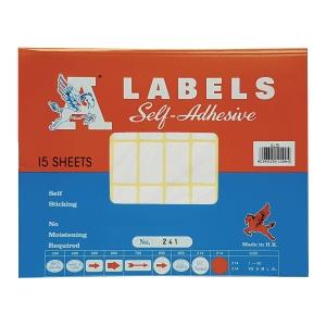 M LABELS 241 白色標籤 16 X 28毫米 每包750個標籤