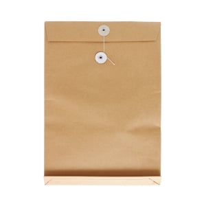 Brown Envelope with String 9 x 13 x 1.5 inch